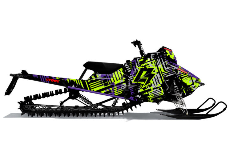 BLEACH Polaris Axys Sled Wrap