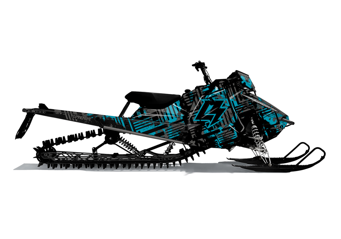 BLEACH Polaris Axys Custom Sled Wrap