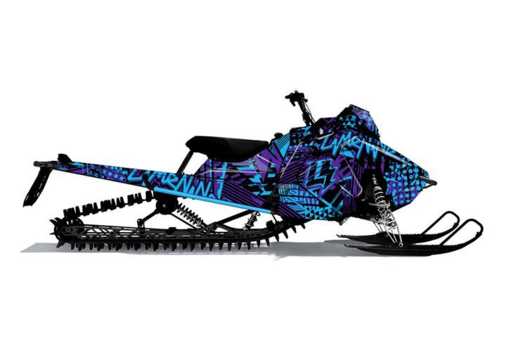 HYPERFLUXX Polaris Axys Sled Wrap