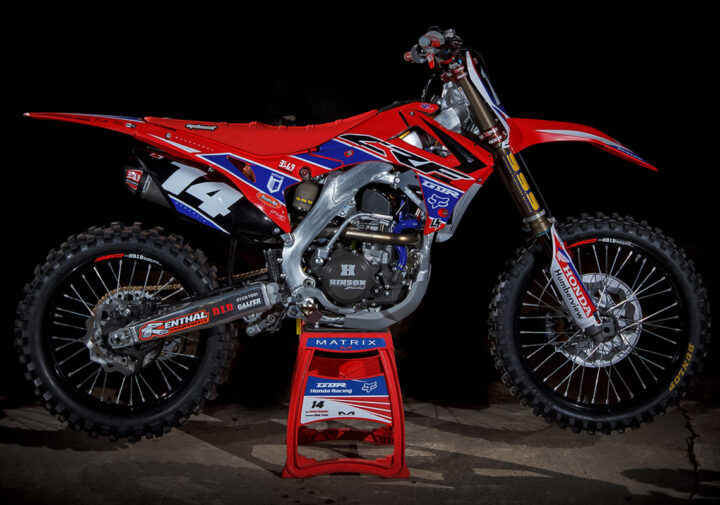 GDR Honda CRF MX Graphics Kit