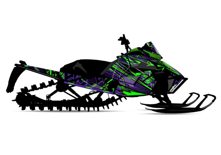 GLORY (Arctic Cat) Sled Wrap