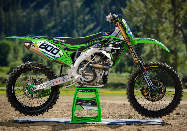 KX250F KX450F Graphics Kit