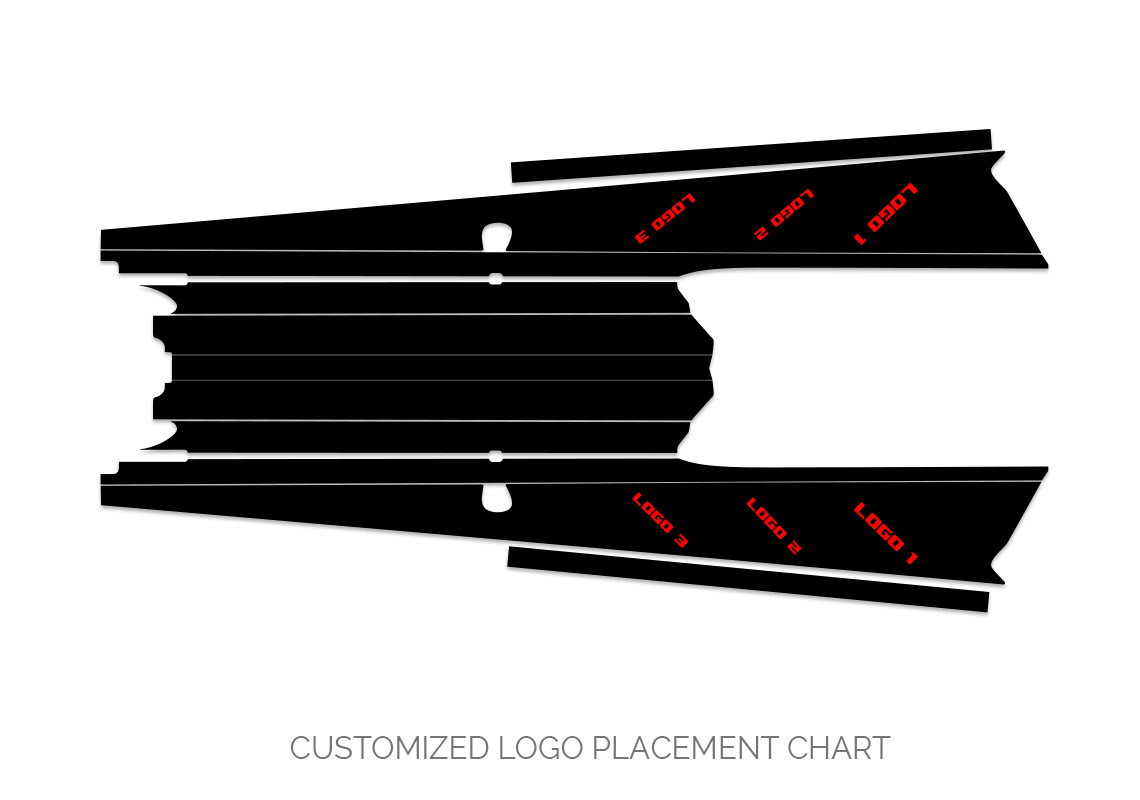 Polaris Axys Logo Placement Chart