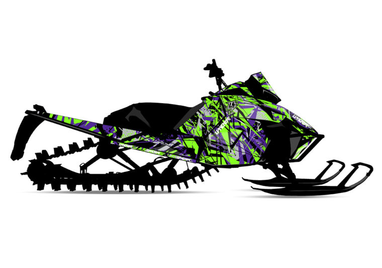 AMPLIFY Arctic Cat Sled Wrap