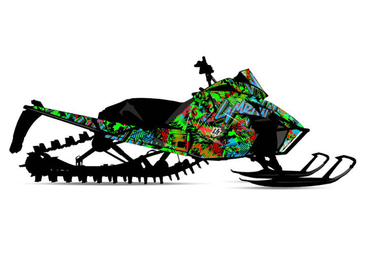 AFTERSHOCK Arctic Cat Sled Wrap