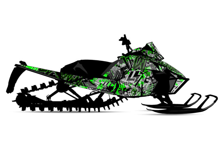 DETOX (Arctic Cat) Sled Wrap