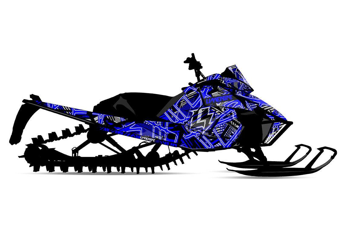 JUSTICE (Arctic Cat) Sled Wrap