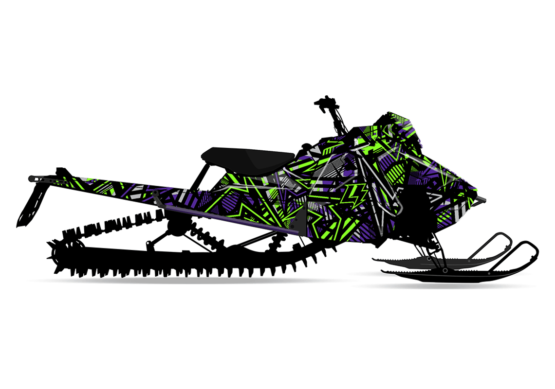theLIGHTS Polaris Axys Sled Wrap