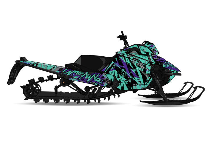 AMPLIFY Arctic Cat M8000 Sled Wrap