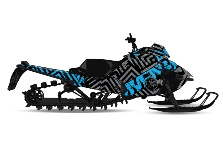 BLKOUT Arctic Cat M8000 Sled Wrap