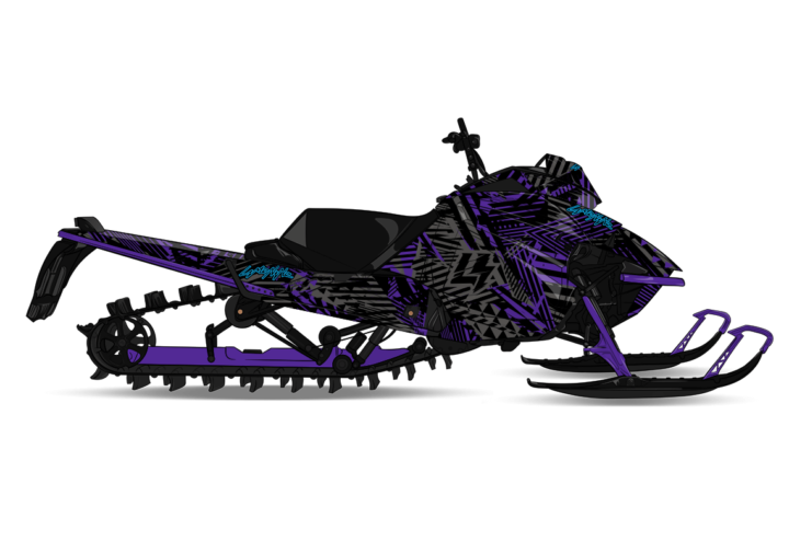 HYPERFLUXX Arctic Cat M8000 Sled Wrap