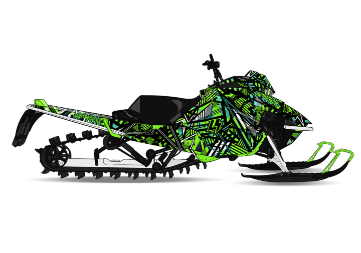 theLIGHTS Arctic Cat M8000 Sled Wrap