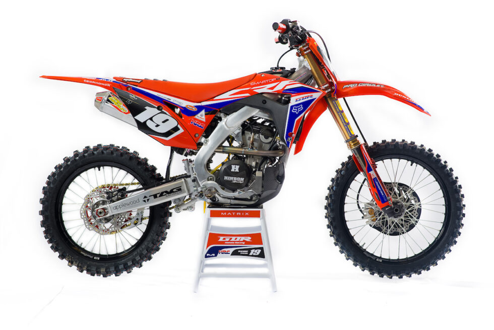 2019 GDR HONDA CRF 250 GRAPHICS