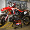 2019 GDR Limited Matte Finish CRF Blackout graphics kit