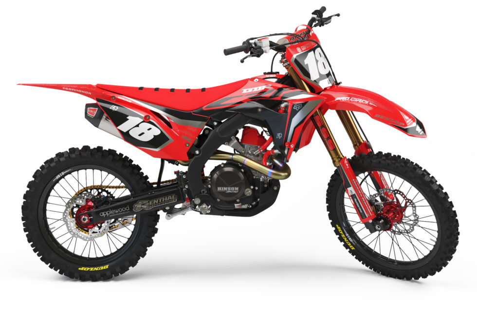 GDR 2020 Limited Edition CRF 250 Team Graphics Kit