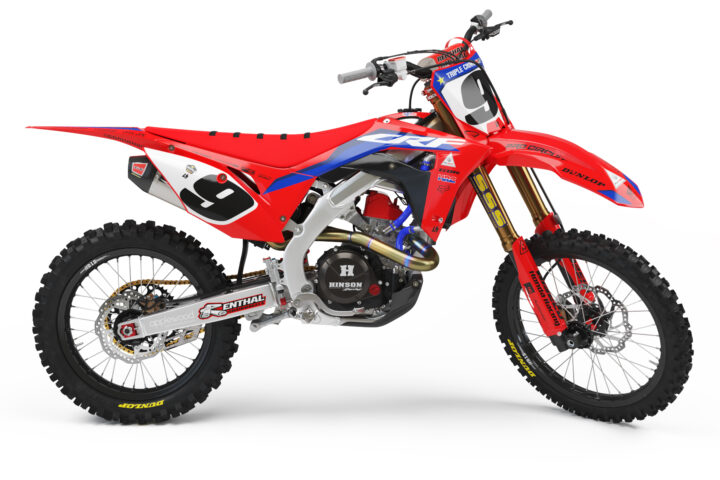 GDR 2020 CRF 450 Team Graphics Kit